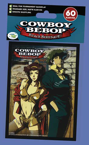 Cowboy Bebop Standard Matte Card Sleeves (60): FAYE AND SPIKE