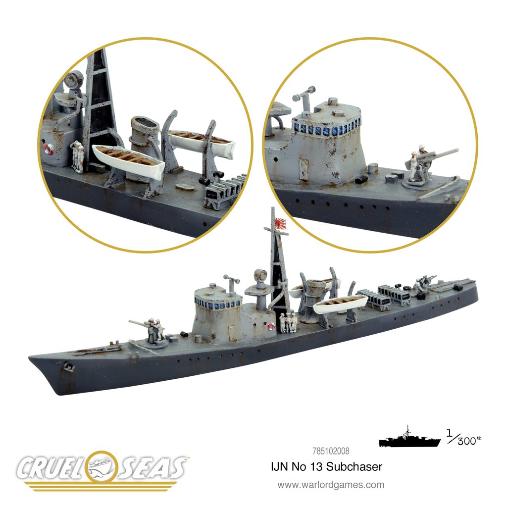 Cruel Seas: Imperial Japanese No 13 Subchaser