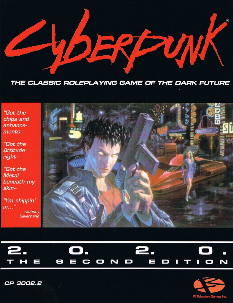 Cyberpunk 2020: Second Edition Core Rulebook [DAMAGED]