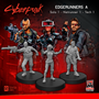 Cyberpunk Red Miniatures: Edgerunners Set A (Solo/Netrunner/Tech) - MFC33001 [8500097531682]
