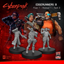 Cyberpunk Red Miniatures: Edgerunners Set B (Fixer/Nomed/Tech)  - MFC33002 [8500097531750]