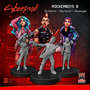 Cyberpunk Red Miniatures: Rockerboys Set (Guitarist/Keytarist/Manager) -  MFC33011 [8500097533693]