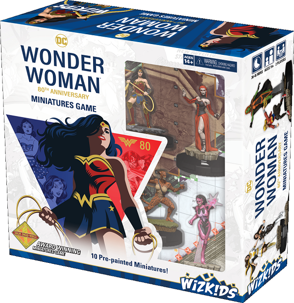 DC HeroClix: Wonder Woman 80th Anniversary Miniatures Game