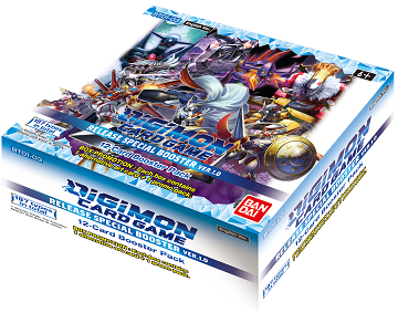 DIGIMON: RELEASE SPECIAL BOOSTER BOX VER 1.0