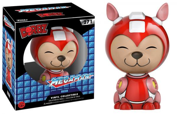 DORBZ 271: Mega Man- Rush (SALE)