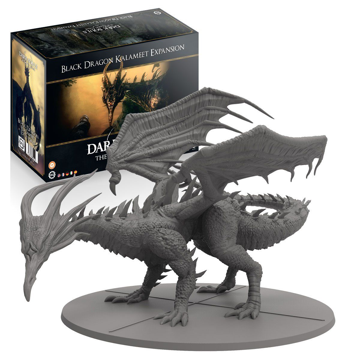 Dark Souls The Board Game: Black Dragon Kalameet [SALE]