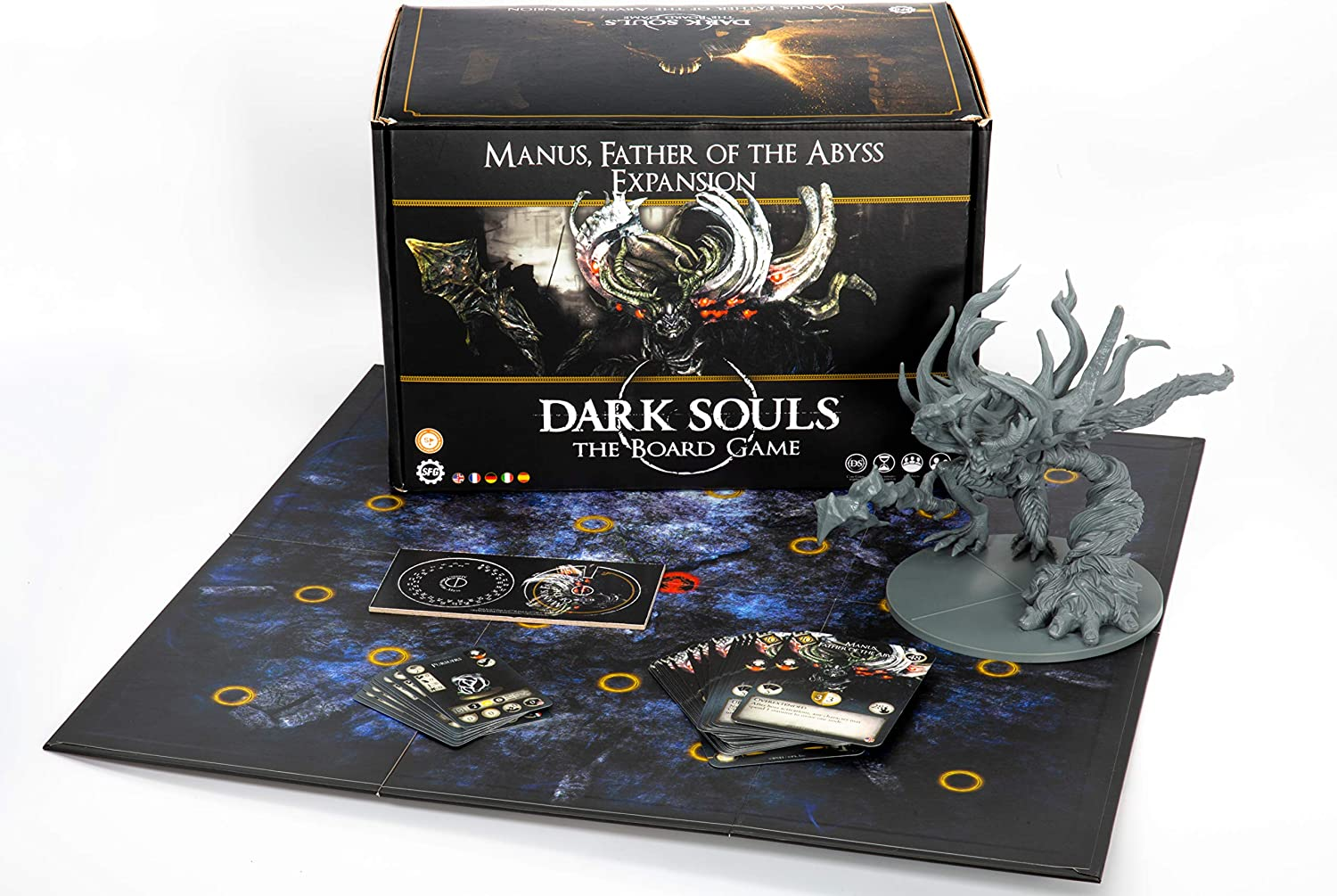 Dark Souls The Board Game: Wave 4 - Manus, Father of the Abyss Expansion [DAMAGED]