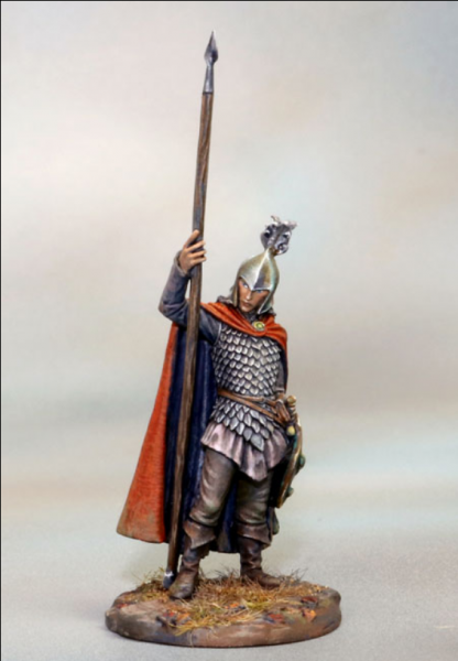 Dark Sword Miniatures: Visions in Fantasy: High Elf Warrior with Spear