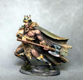 Dark Sword Miniatures: Visions in Fantasy: Male Barbarian with Battle Axe