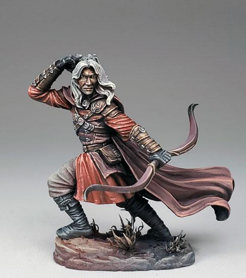 Dark Sword Miniatures: Visions in Fantasy: Male Ranger with Bow (2019)