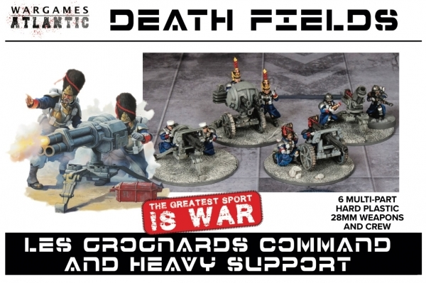 Death Fields Les Grognards Command and Heavy Support