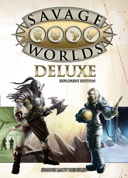 Savage Worlds: Deluxe Rulebook: Explorers Edition [Damaged]