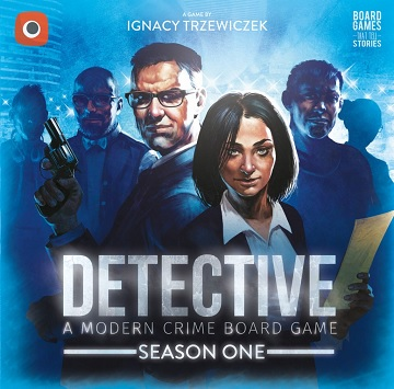 Detective: A Modern Crime Board Game - Season 1 [DAMAGED]