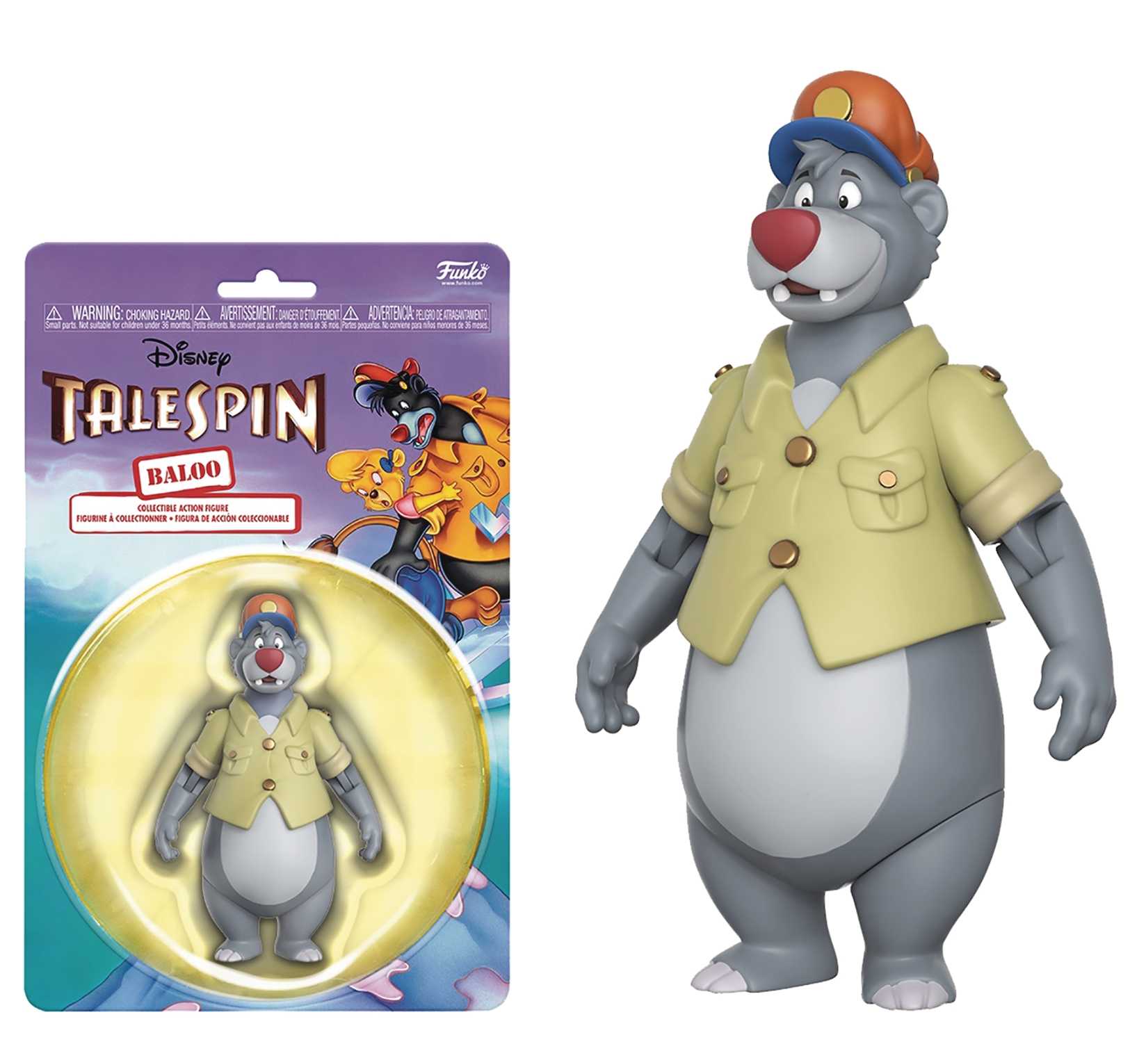 Disney Afternoon Action Figure Collection: Baloo
