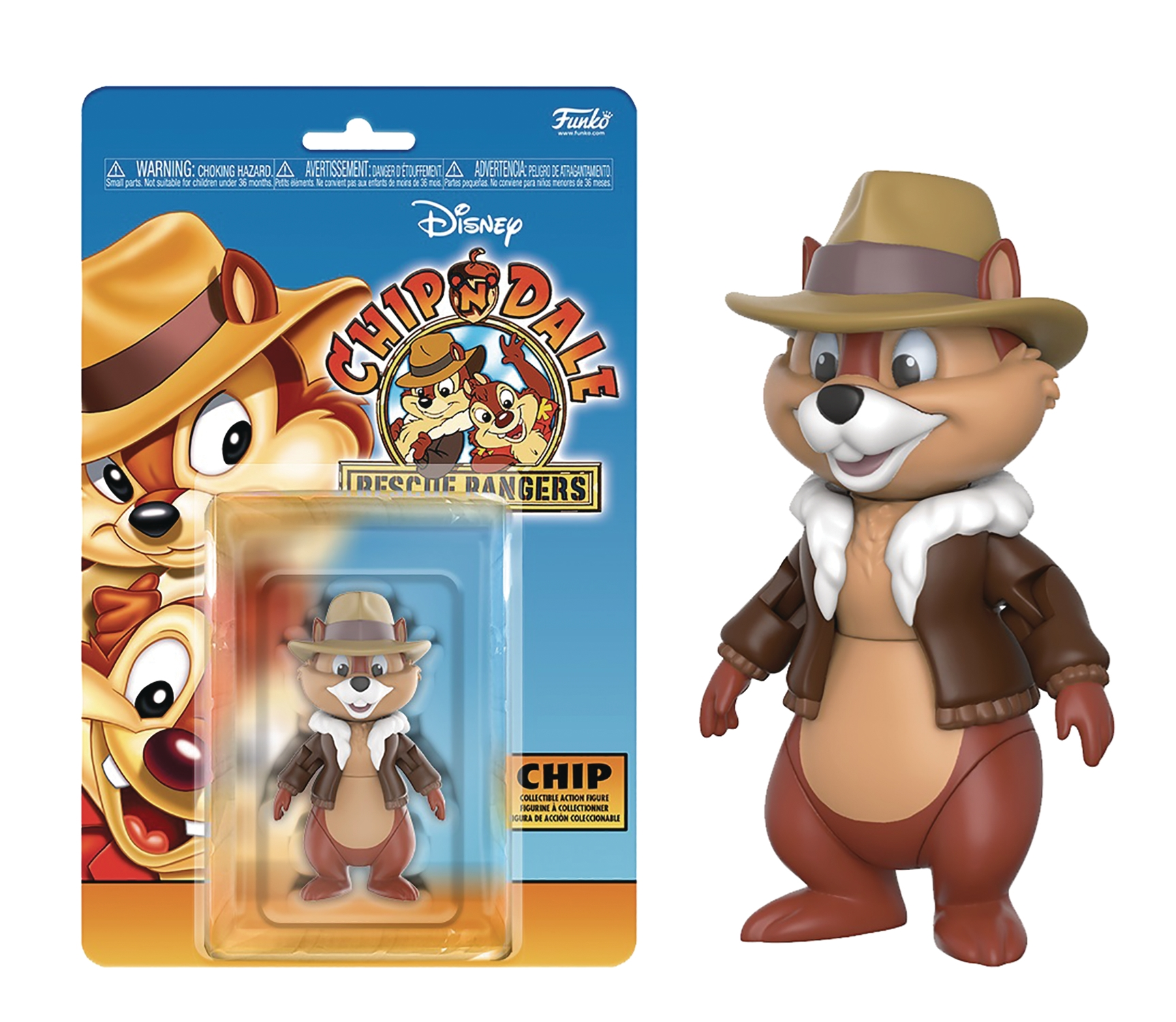 Disney Afternoon Action Figure Collection: Chip