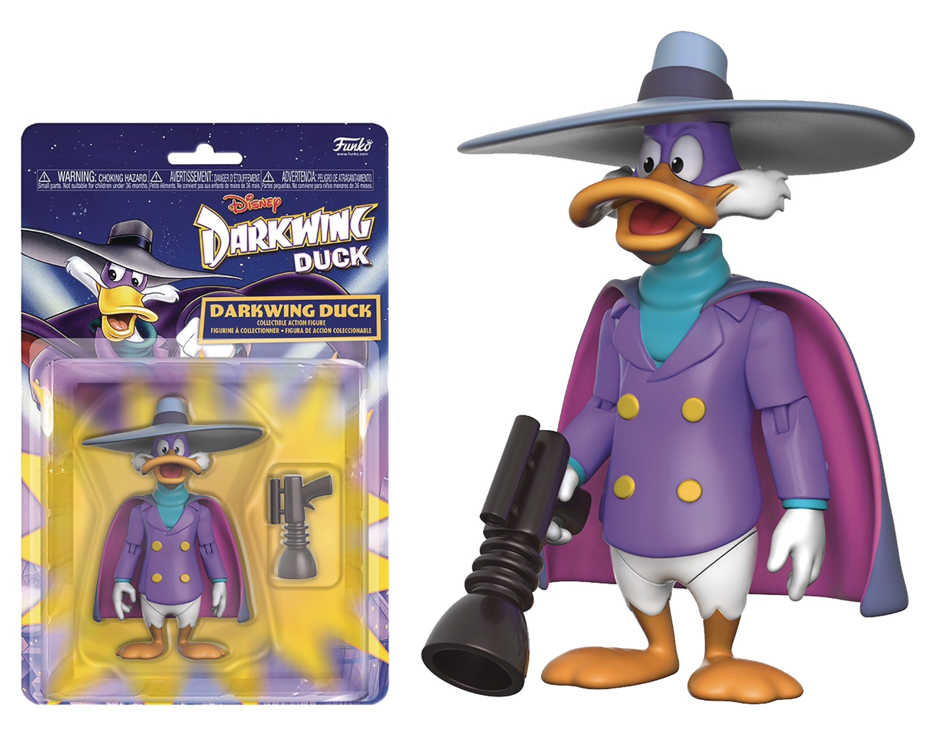 Disney Afternoon Action Figure Collection: Darkwing Duck