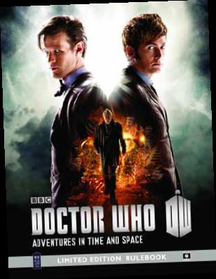 Doctor Who RPG: Adventures in Time and Space: Limited Edition Rulebook