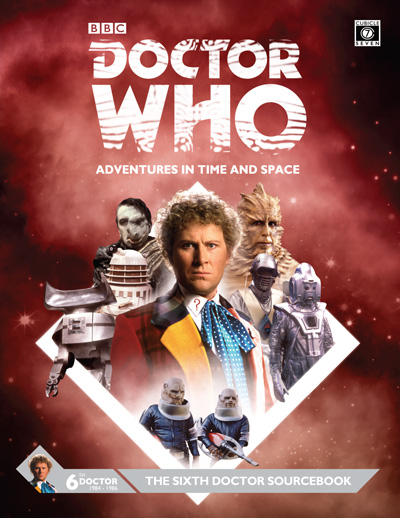 Doctor Who RPG: The Sixth Doctor Sourcebook