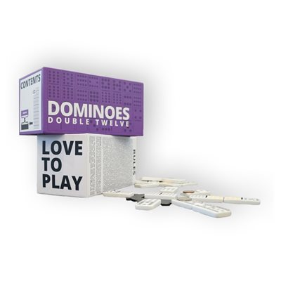 Dominoes Double Twelve -Love to Play (Damaged)