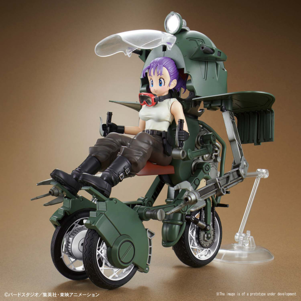 Dragon Ball Figure-rise Mechanics: Bulmas Variable No.19 Motorcycle