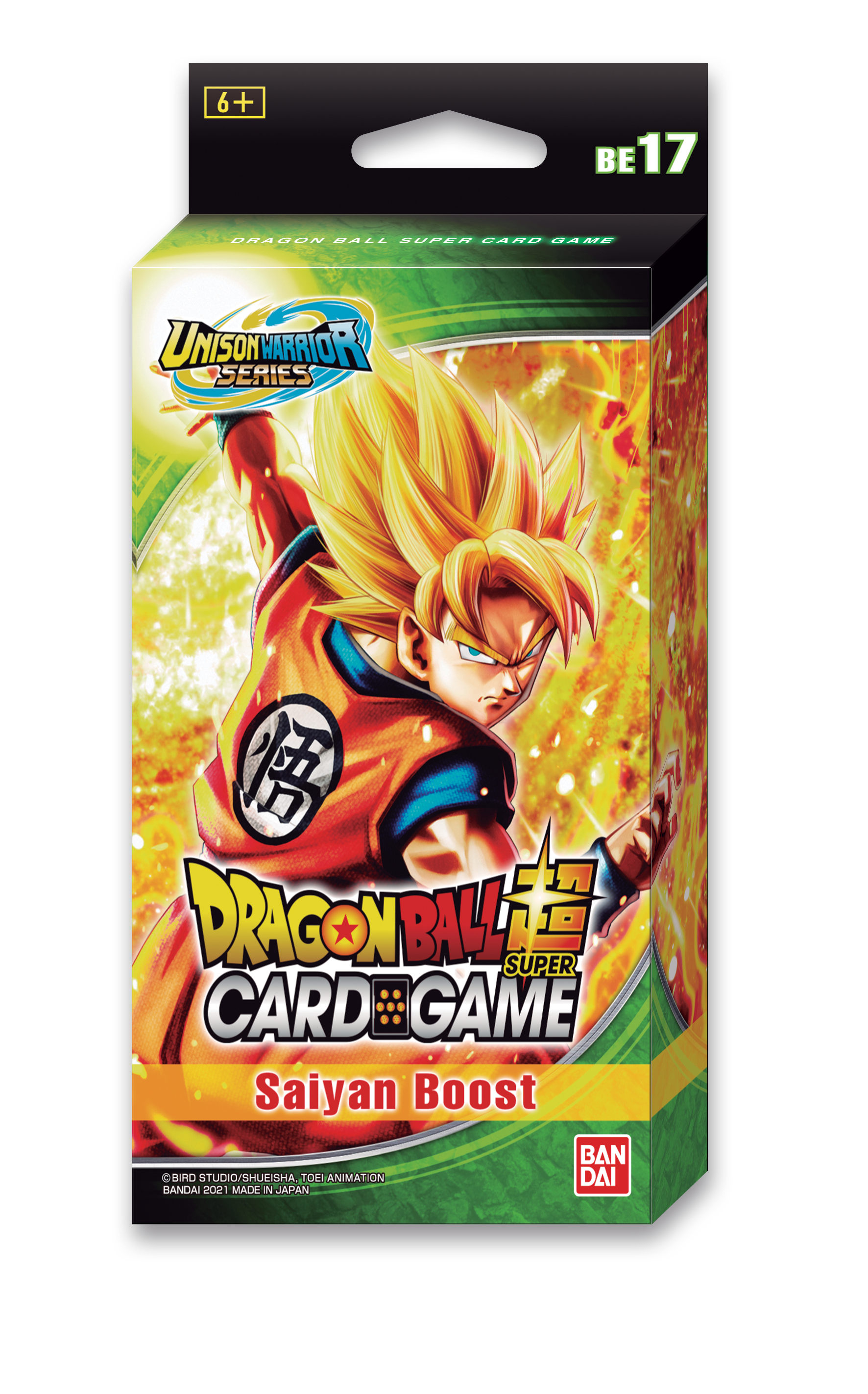 Dragon Ball Super: Expansion Set 17 - SAIYAN BOOST