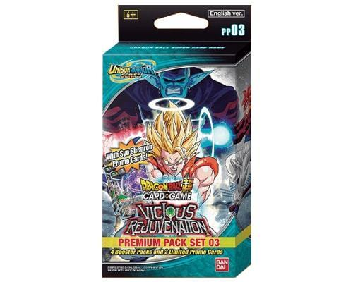 Dragon Ball Super: Unison Warrior Series 03 - Vicious Rejuvenation Premium Pack Set