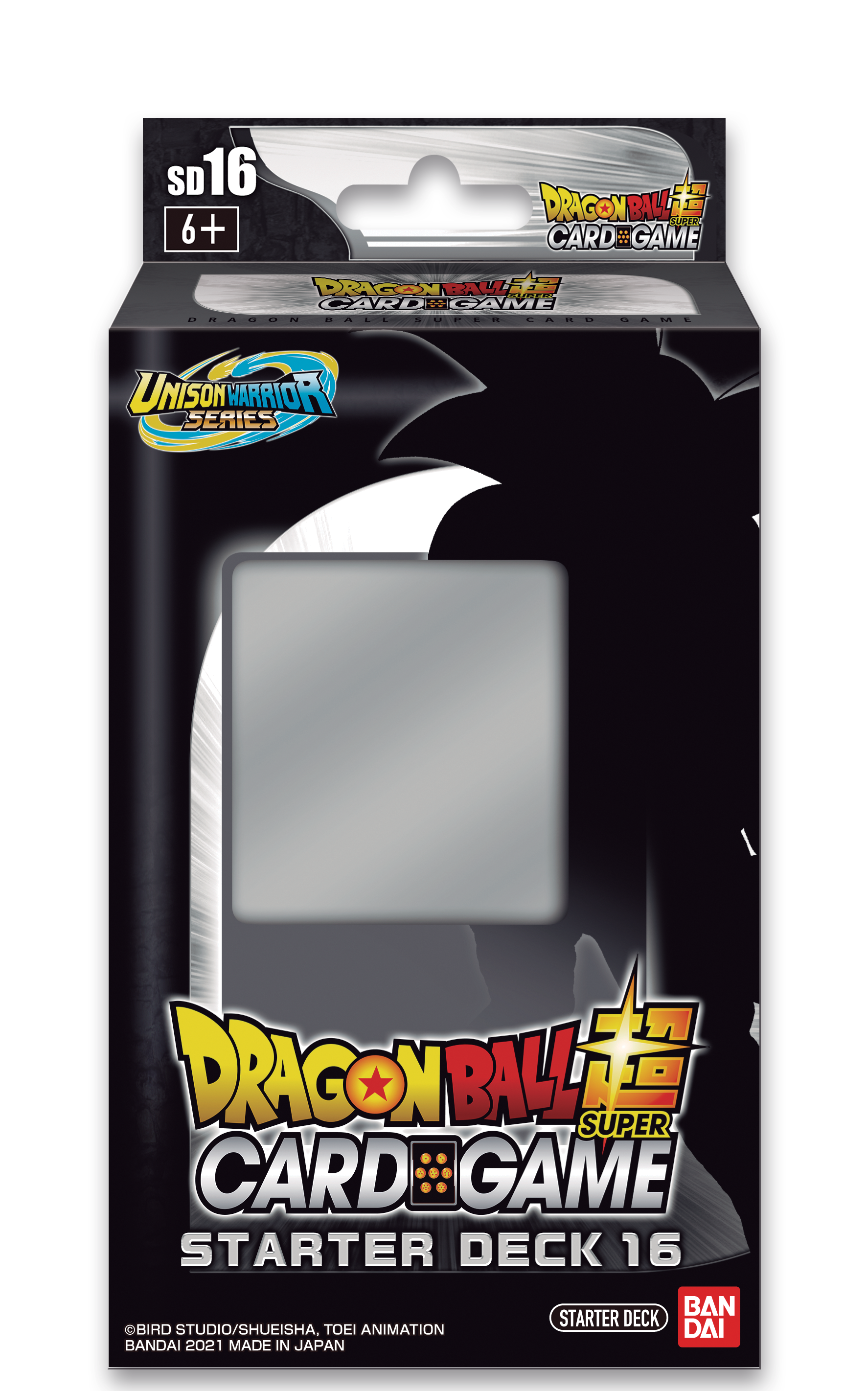 Dragon Ball Super: Unison Warrior Series Starter Deck 16-