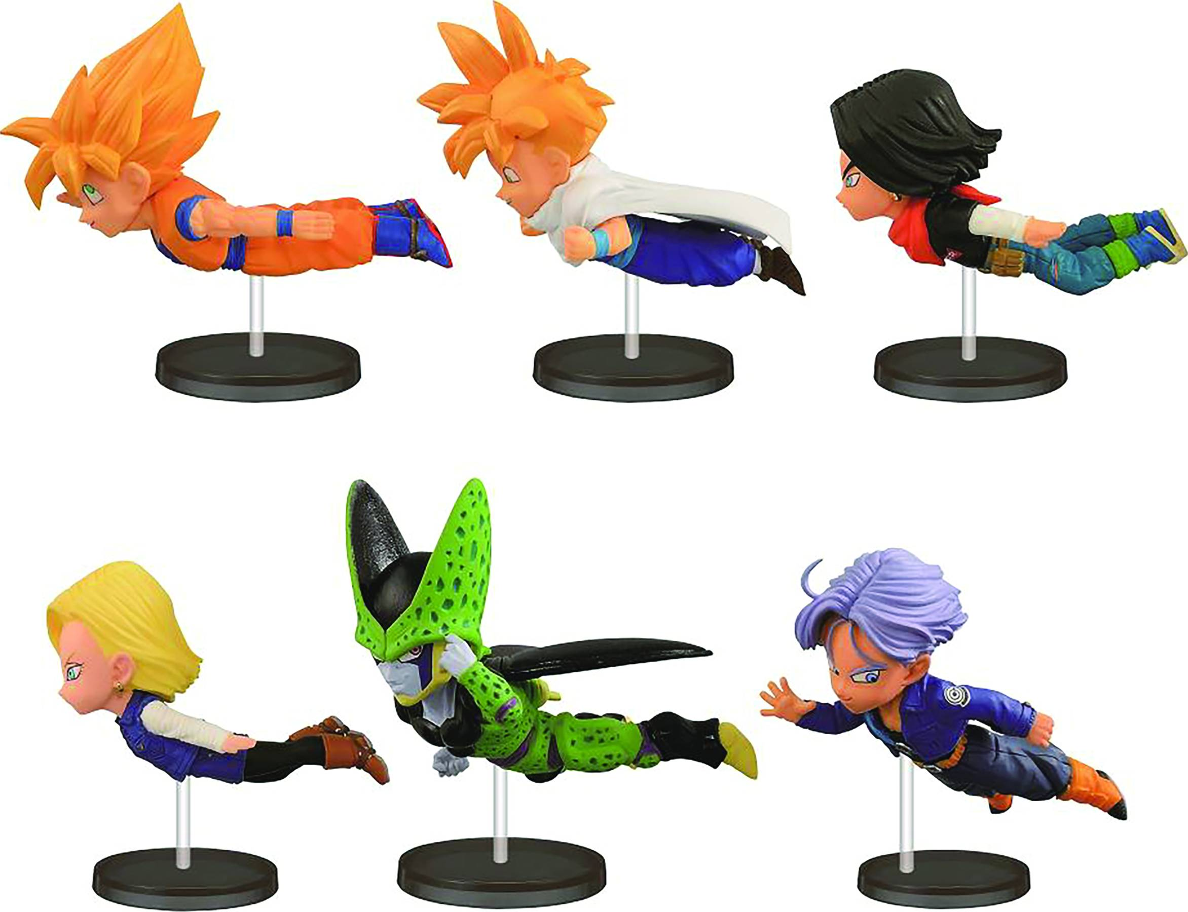 Dragon Ball Z World Collectible Figures- Historical Collection Vol.3: Cell