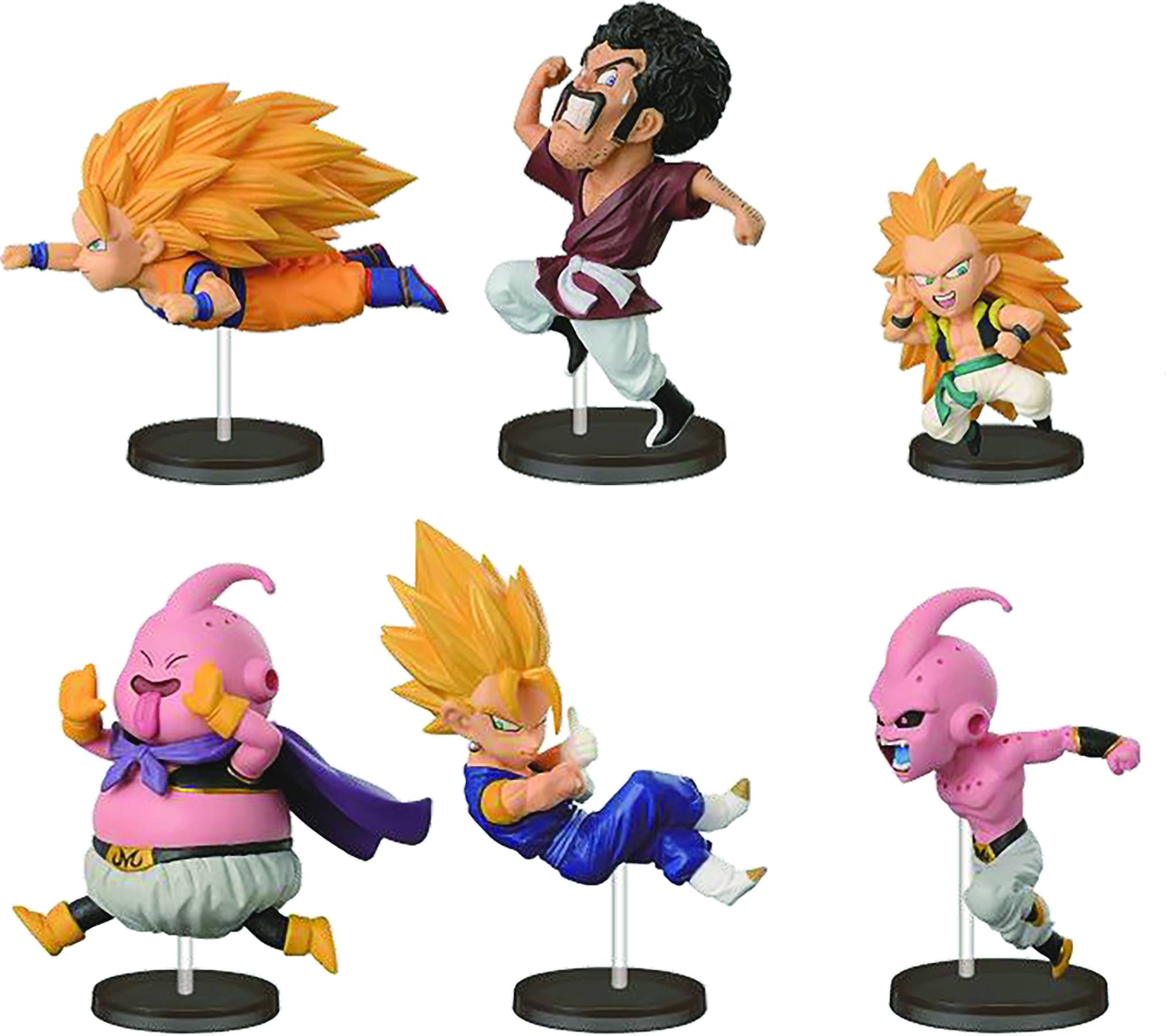 Dragon Ball Z World Collectible Figures- Historical Collection Vol.4: Kid Buu
