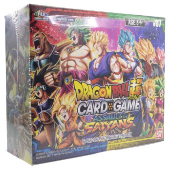 Dragon Ball Super: 07 Assault of the Saiyans - Booster Box