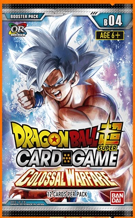 DragonBall Super: Colossal Warfare- Booster Pack
