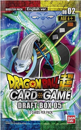 DragonBall Super: DRAFT BOX BOOSTER #05
