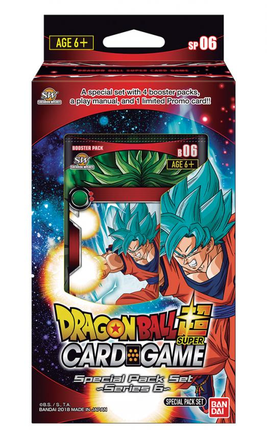 DragonBall Super: Series 6 - Special Pack Set