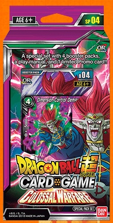 DragonBall Super: Colossal Warfare- Special Pack