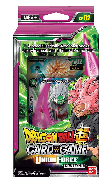 DragonBall Super: Union Force Special Pack Set