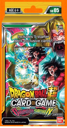 DragonBall Super:  THE CRIMSON SAIYAN - STARTER