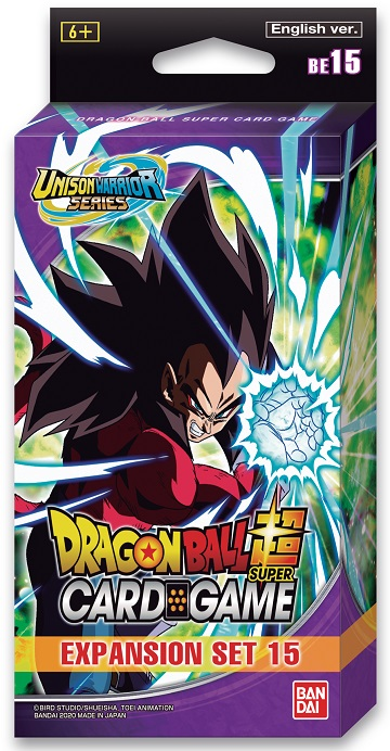 Dragon Ball Super: Unison Warrior Series Expansion Set 15- Battle Enhanced