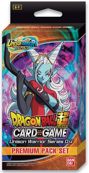 Dragon Ball Super: Unison Warrior Series 04- Premium Pack Set