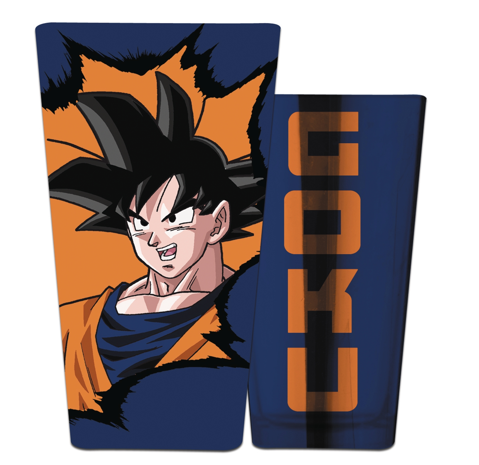 Dragonball Z: Goku Chrome Pint Glass
