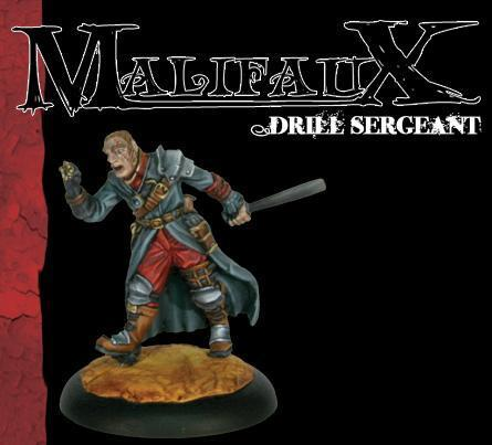 Malifaux: Guild: Drill Sergeant [SALE]