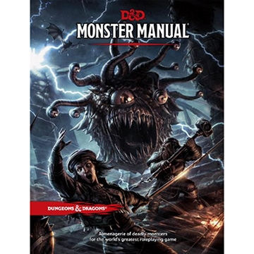 Dungeons & Dragons (5th Ed.): Monster Manual [DAMAGED]