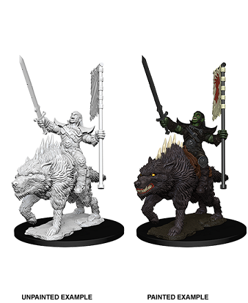 Dungeons & Dragons Nolzur's Marvelous Miniatures: ORC ON DIRE WOLF