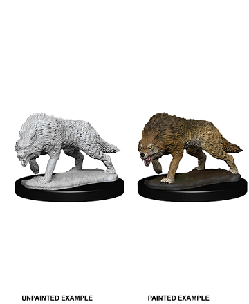 Dungeons & Dragons Nolzur's Marvelous Miniatures: TIMBER WOLVES