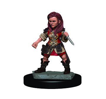 Dungeons & Dragons Premium Figures: HALFLING FEMALE ROGUE