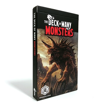 Dungeons & Dragons (5th Ed.): DECK OF MANY: MONSTERS 1