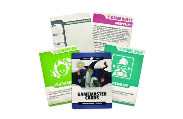 Dungeons & Dragons (5th Ed.): Gamemaster Cards