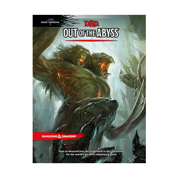 Dungeons & Dragons (5th Ed.): Out of the Abyss [Damaged]