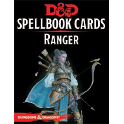 Dungeons & Dragons (5th Ed.): Spellbook Cards- Ranger [DAMAGED]