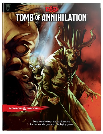 Dungeons & Dragons (5th Ed.): TOMB OF ANNIHILATION (HC) [Damaged]