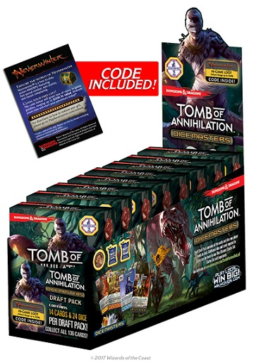 Dungeons & Dragons Dice Masters -Tomb of Annihilation: Draft Pack